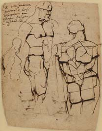 Rubens, 'Study of Farnese Hercules', about 1602