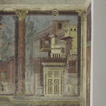 Fresco in the cubiculum of the villa of P. Fannius Synistor at Boscoreale.