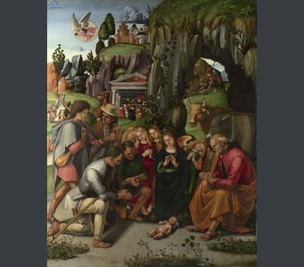 Signorelli, 'The Adoration of the Shepherds', 1496