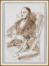 Sir Francis Grant, Drawing of Sir Charles Eastlake, Private Collection.