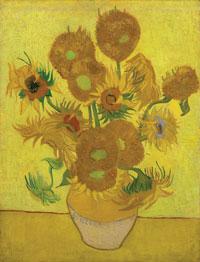 Vincent van Gogh, Sunflowers © Van Gogh Museum, Amsterdam (Vincent van Gogh Foundation)