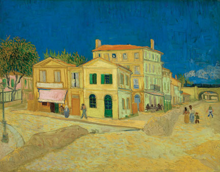 Vincent van Gogh, The Yellow House ('The Street'), 1888, oil on canvas. © Van Gogh Museum, Amsterdam (Vincent van Gogh Foundation)