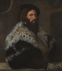 Titian, 'Portrait of Girolamo Fracastoro', about 1528