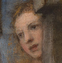 Detail from Titian, 'Diana and Actaeon', 1556-59