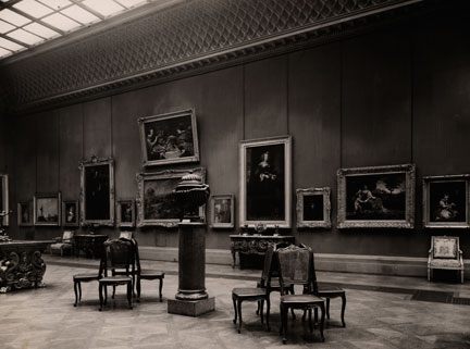 Interior of the Wallace Collection, Hertford House, during the 1920s. Photograph © The Wallace Collection