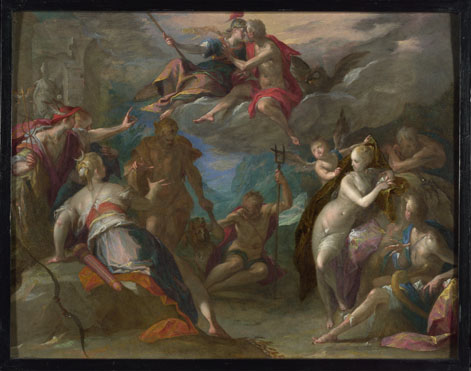 Hans von Aachen: 'The Amazement of the Gods (?)'