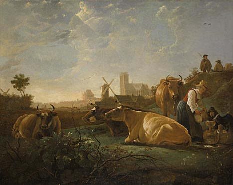 Aelbert Cuyp, 'The Large Dort', about 1650