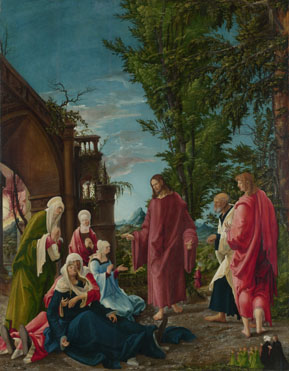 Albrecht Altdorfer: 'Christ taking Leave of his Mother'