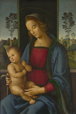 Attributed to Andrea di Aloigi: 'The Virgin and Child'