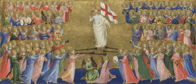 Fra Angelico: 'Christ Glorified in the Court of Heaven'