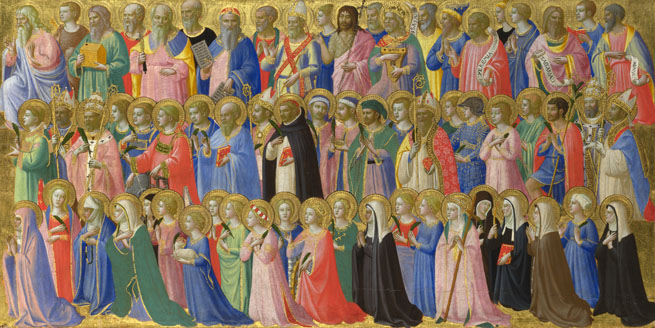 Fra Angelico: 'The Forerunners of Christ with Saints and Martyrs'