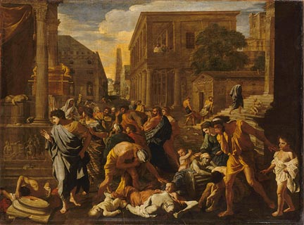 Nicolas Poussin, 'The Plague at Ashdod', 1631. Musée du Louvre, Paris