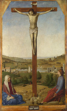 Antonello da Messina: 'Christ Crucified'