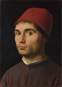Antonello da Messina: 'Portrait of a Man'