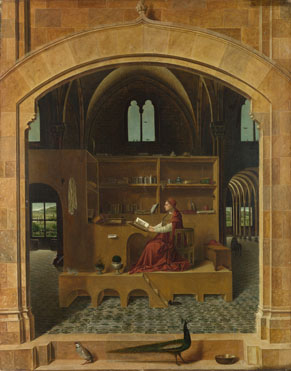 Antonello da Messina: 'Saint Jerome in his Study'