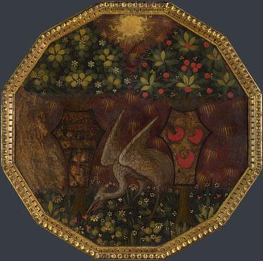 Workshop of Apollonio di Giovanni: 'Birth Tray: The Triumph of Love'