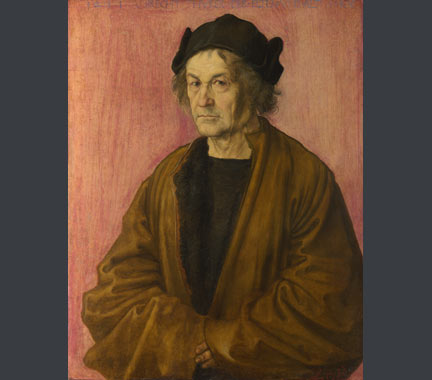 Attributed to Albrecht Dürer, The Painter's Father