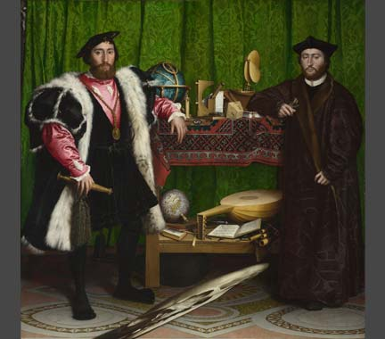 Hans Holbein the Younger, 'The Ambassadors', 1533