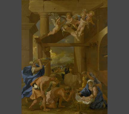 Nicolas Poussin, 'The Adoration of the Shepherds', about 1633-4