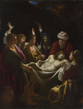 Sisto Badalocchio: 'Christ carried to the Tomb'