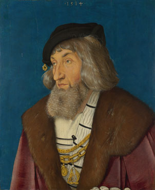 Hans Baldung Grien: 'Portrait of a Man'
