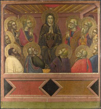 Barnaba da Modena: 'Pentecost'