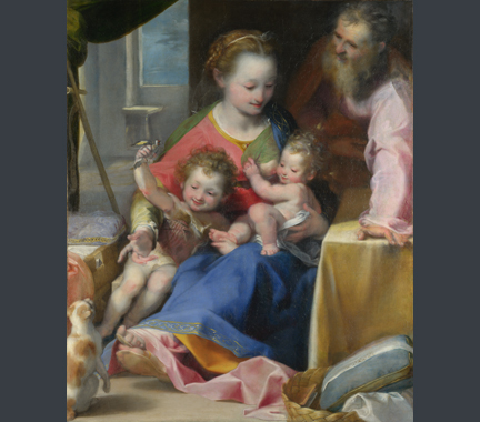 Barocci, 'The Madonna and Child with Saint Joseph and the Infant Baptist'