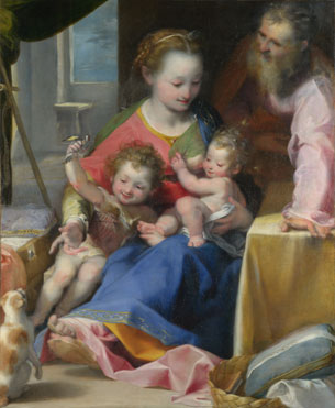 Federico Barocci: 'The Madonna of the Cat ('La Madonna del Gatto')'