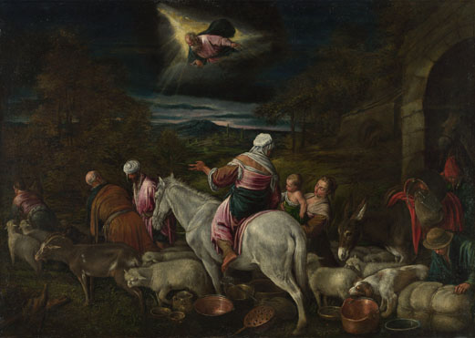 After Jacopo Bassano: 'The Departure of Abraham'