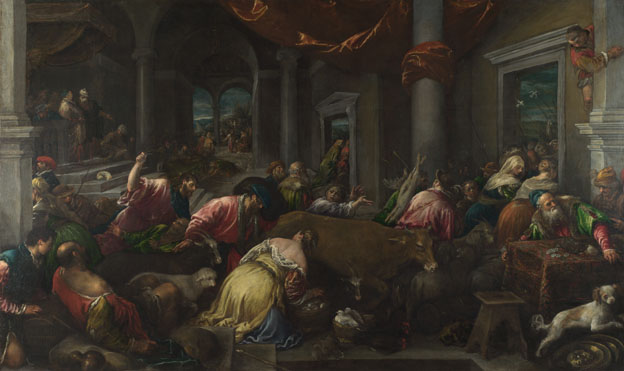 Jacopo Bassano: 'The Purification of the Temple'