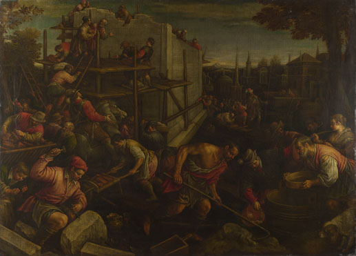 Leandro Bassano: 'The Tower of Babel'