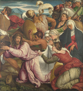 Jacopo Bassano: 'The Way to Calvary'