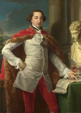 Pompeo Girolamo Batoni: 'Portrait of Richard Milles'