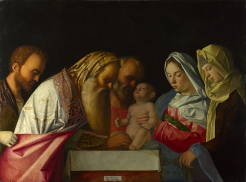 Workshop of Giovanni Bellini: 'The Circumcision'