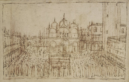Gentile Bellini: 'A Procession in Piazza San Marco'.