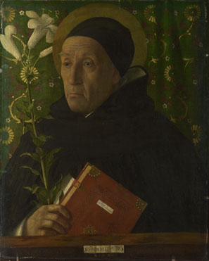 Workshop of Giovanni Bellini: 'Saint Dominic'