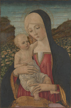 Benvenuto di Giovanni: 'The Virgin and Child'