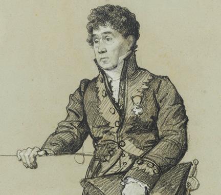 Portrait of Jean-Joseph-Xavier Bidauld