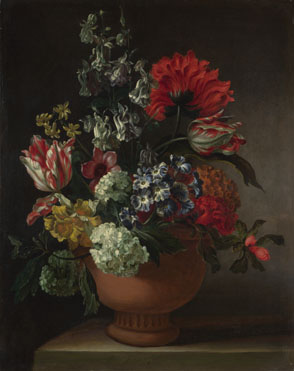 Marie Blancour: 'A Bowl of Flowers'
