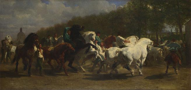Rosa Bonheur: 'The Horse Fair'