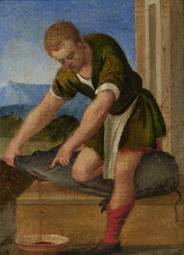 Style of Bonifazio di Pitati: 'The Labours of the Months: December'
