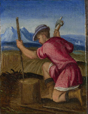 Style of Bonifazio di Pitati: 'The Labours of the Months: February'