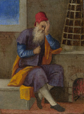 Style of Bonifazio di Pitati: 'The Labours of the Months: January'