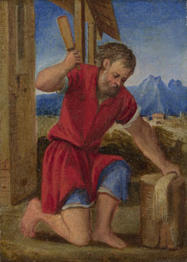 Style of Bonifazio di Pitati: 'The Labours of the Months: July'