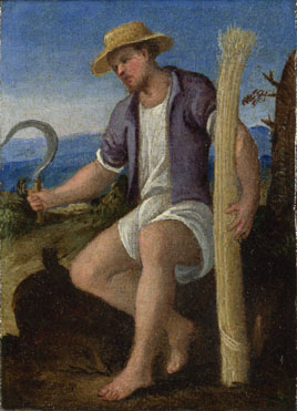 Style of Bonifazio di Pitati: 'The Labours of the Months: June'