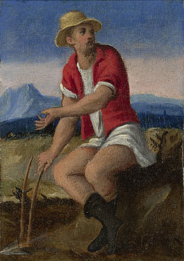 Style of Bonifazio di Pitati: 'The Labours of the Months: October'