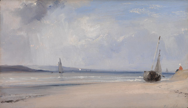Richard Parkes Bonington: 'La Ferté'