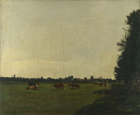 François Bonvin: 'The Meadow'