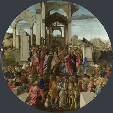 Sandro Botticelli: 'The Adoration of the Kings'