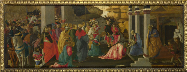 Sandro Botticelli: 'Adoration of the Kings'